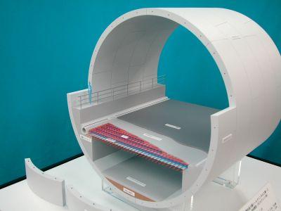 トンネル模型
