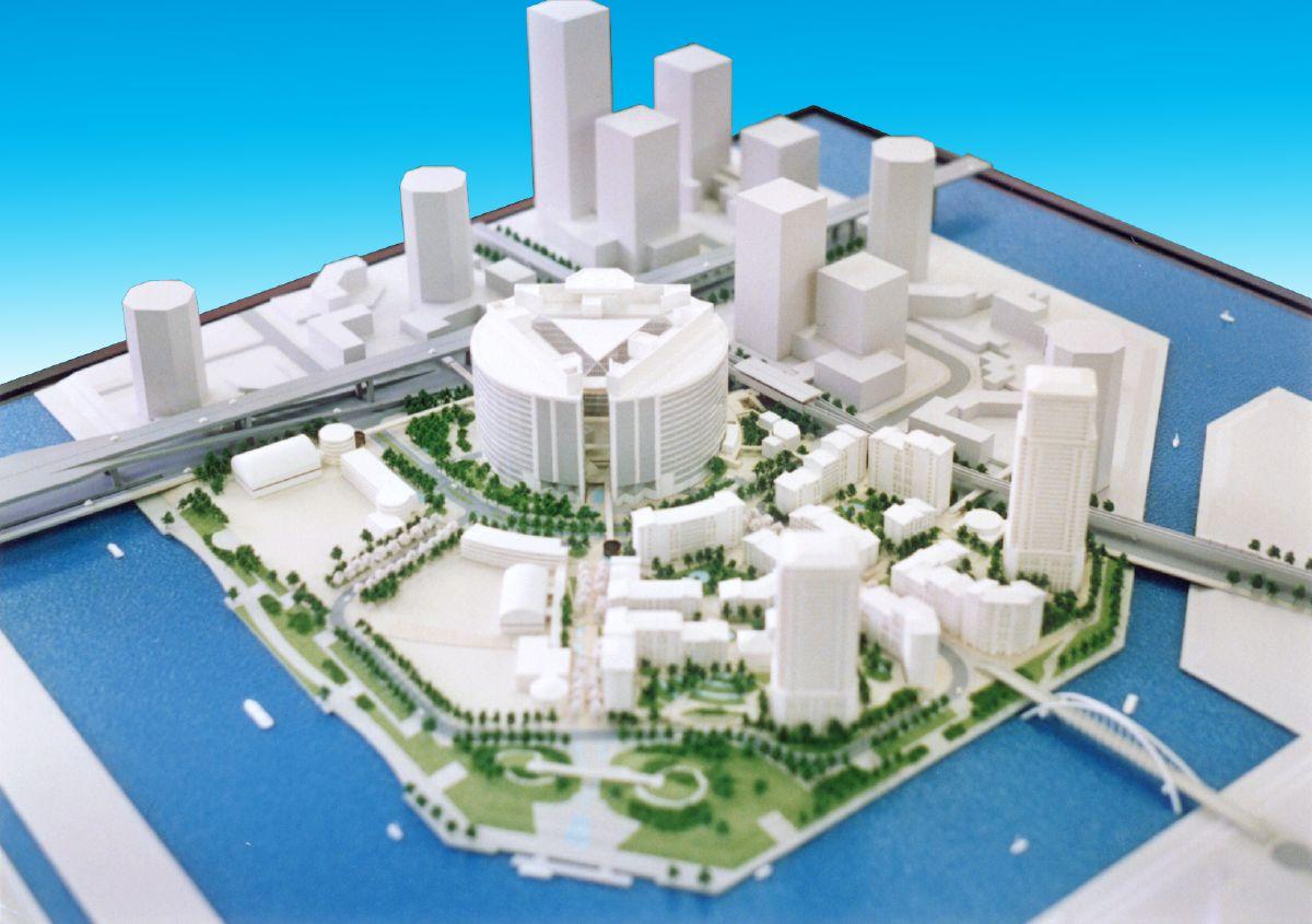 都市計画模型|070-建築模型|ジ...